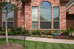 Arch window & right window PR40 No film left of arch/ Home Window Tinting Lantana