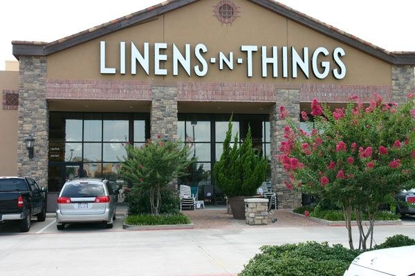 Tinted windows at Linens and Things (out of business)