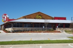 Rudy' BBQ Commercial Window Film Different Angle
