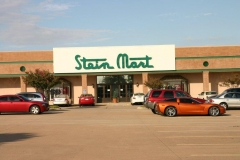 Stein Mart Lewisville Night Vision 15 on Entry/ Prestige 70 on display windows
