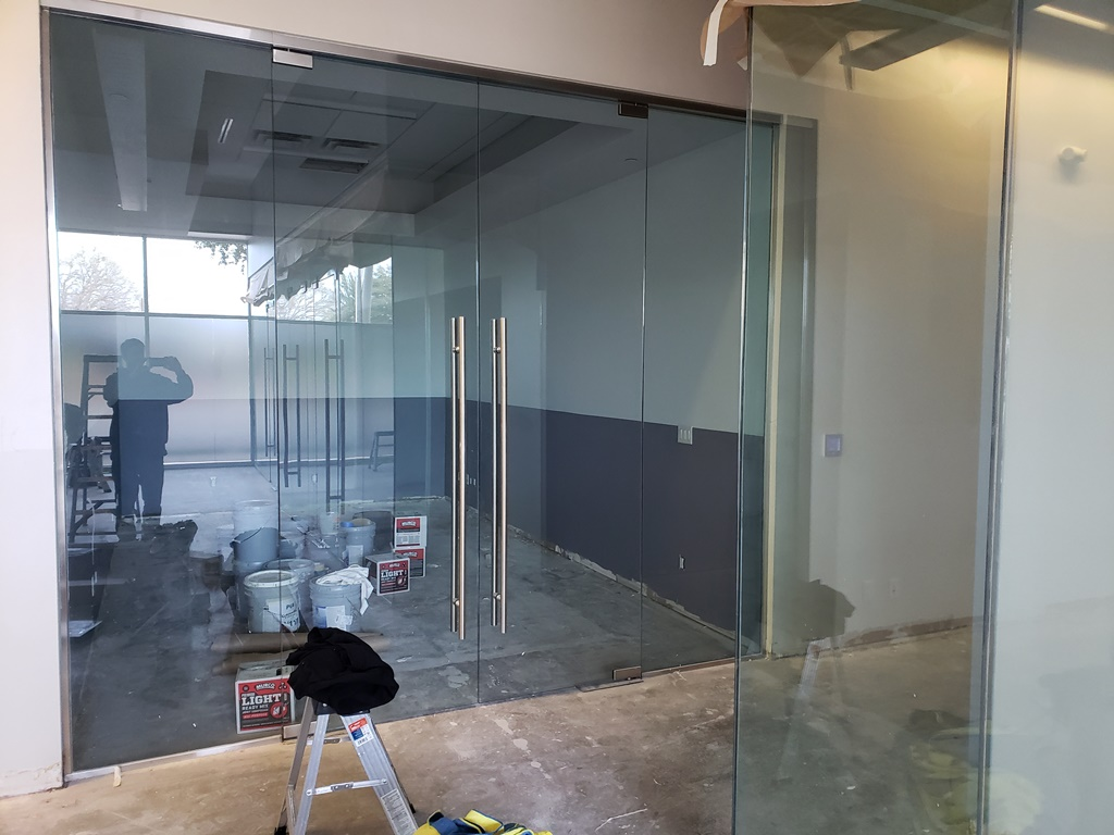 3M Dusted Crystal, Privacy Frost, Fort Worth, TX