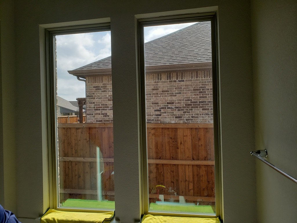 Solyx Rain Glass, Decorative Privacy Film, Prosper, TX