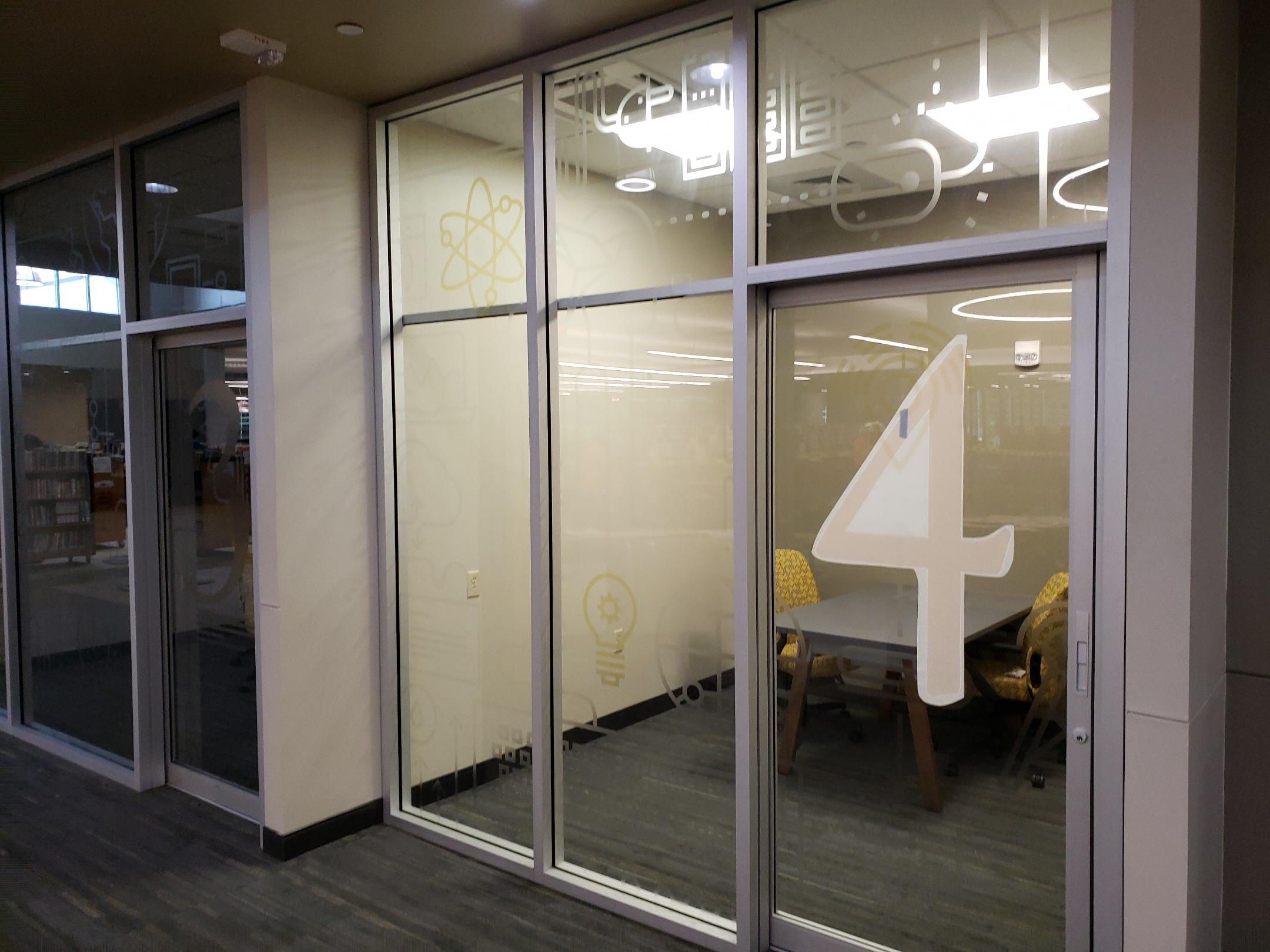 Solyx Decorative Film, Custom Graphics, Flower Mound, TX