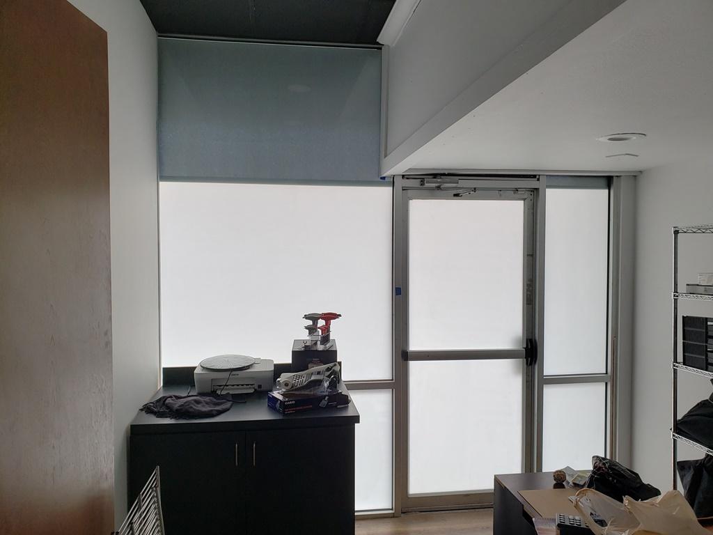 3M White Electrocut, Vinyl Film Privacy, EulessTX