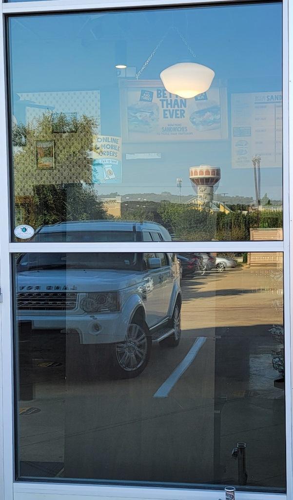3M Silver Satin, Vinyl Film Privacy, Southlake TX