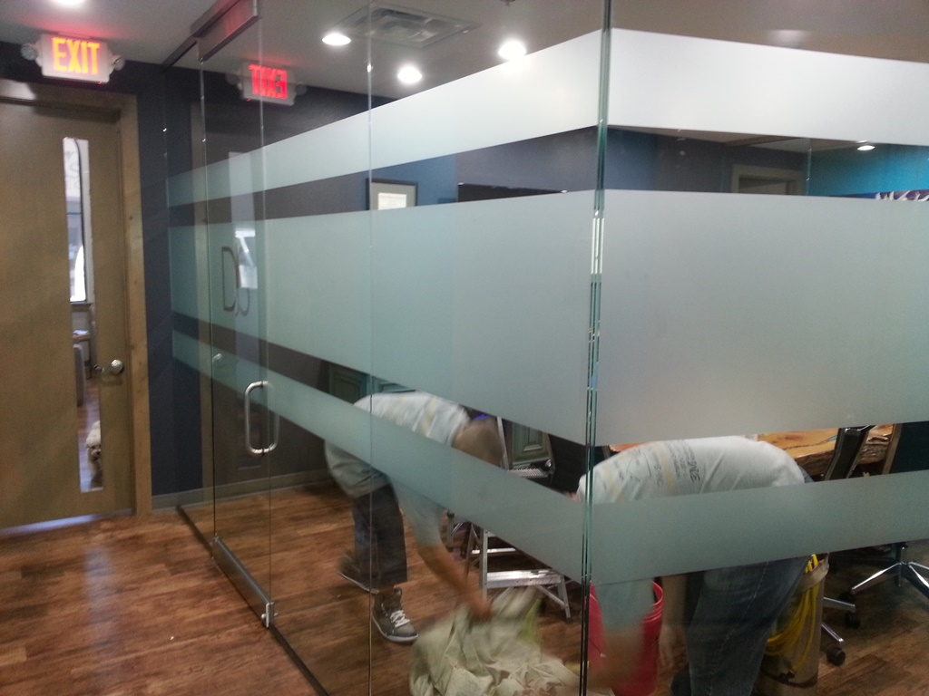 3M Milano, Commercial Conference Room Glass, Decorative Frost,Privacy Frost, Dallas, TX