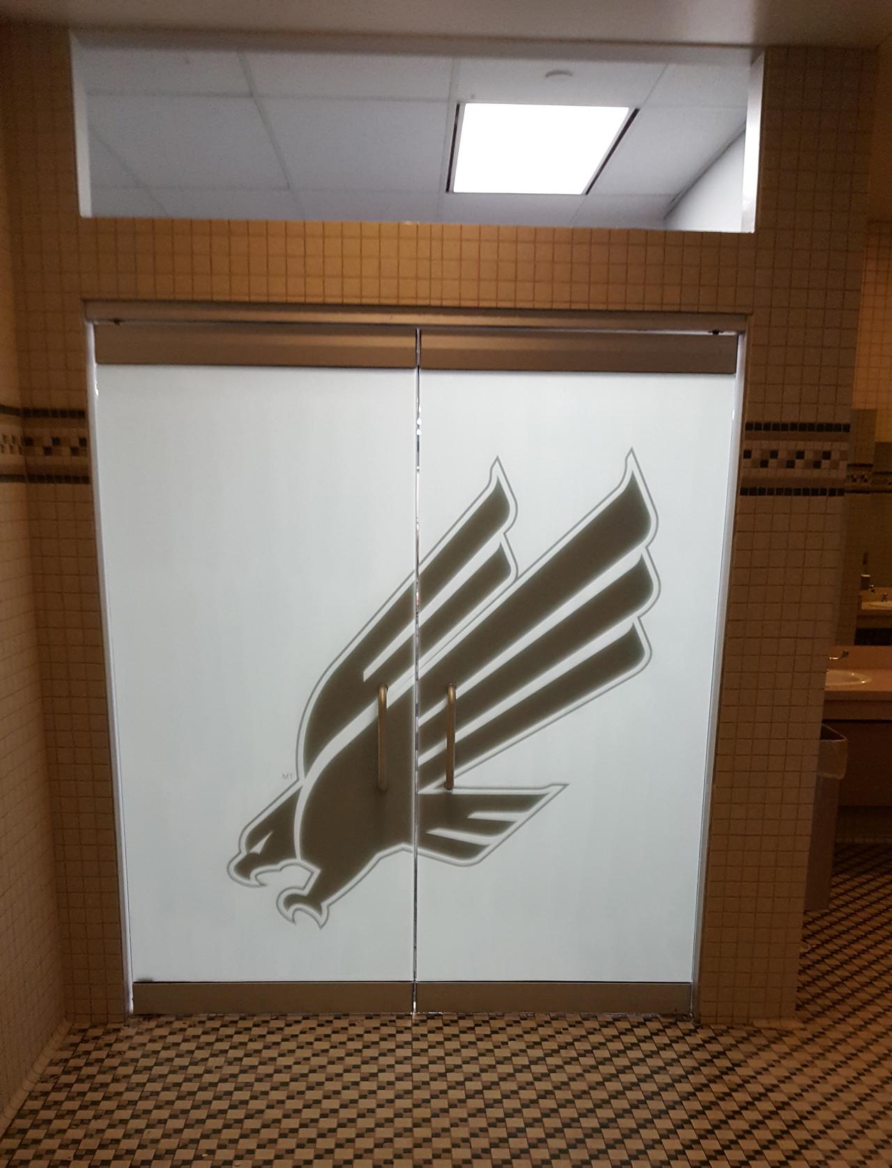 3M San Marino, Custom Graphic, Logo Installation, Dallas TX