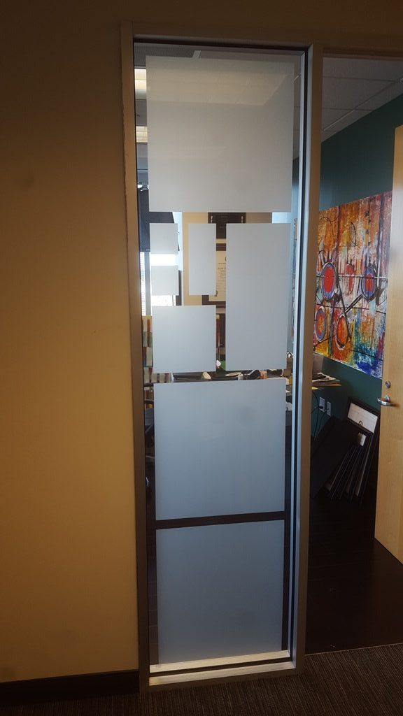 3M San Marino, Office Privacy, Decorative Frost, Fort Worth, TX