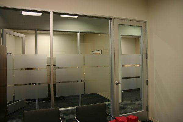 3M Dusted Crystal, Conference Room, Decorative Film, Southlake, TX